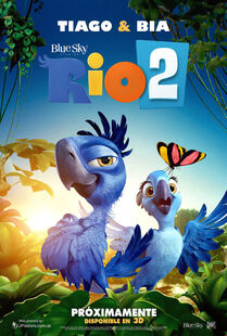 Rio 2 poster ft tiago and bia by melysky-d73i04v