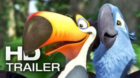 RIO 2 Trailer Deutsch German 2014 Official Film HD