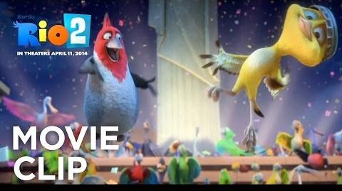 Rio 2 New Year's Eve Clip 20th Century FOX-1407800505