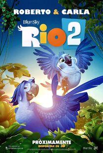 Rio 2 poster ft roberto and carla by melysky-d73i070
