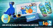 Rio 2 french beach kit