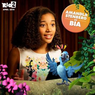 Rio 2 Bia Amanda