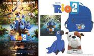 Rio 2 Poster and Plush Promo