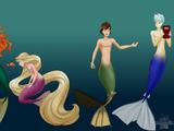 The Little Mermaid AU