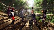 Bridge fight