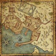 Carte de Port-Faranga - contenu