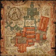 Carte du monastère - contenu