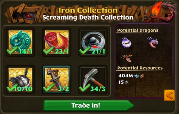 Screaming Death Potential Collections.png