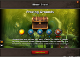 Proving grounds story event