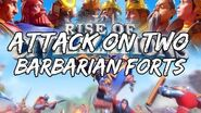 NowPlaying Rise Of Civilizations On PC • Joined The Attack On A Barbarian Fort, TWICE!