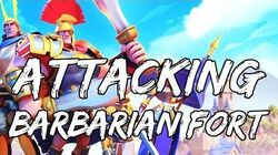 NowPlaying RISE OF CIVILIZATIONS On PC (Attacking Barbarian Fort)
