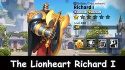 Rise of Civilizations The Lionheart Richard I-0
