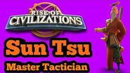 Rise of Civilizations - -Beginner's Guide- Commander Guide Sun Tsu - Rage Explained