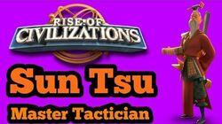 Rise of Civilizations - -Beginner's Guide- Commander Guide Sun Tsu - Rage Explained
