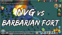 NowPlaying RISE OF CIVILIZATIONS On PC • NVG vs Barbarian Fort