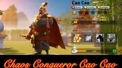 Rise of Civilizations Chaos Conqueror Cao Cao-0