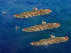 Carriers launching Fighter Bombers.jpg