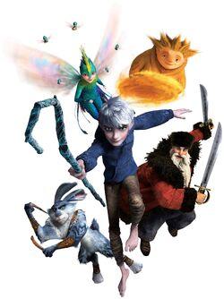 The five Guardians.