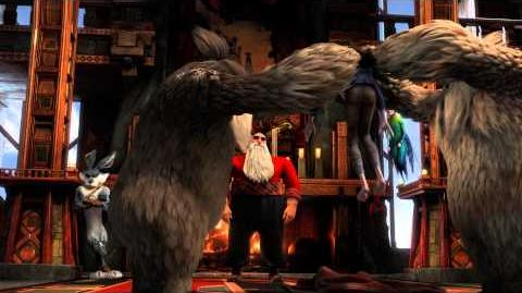 """RISE OF THE GUARDIANS - Official Film Clip - """"Jack Arrives at the Pole"""""""