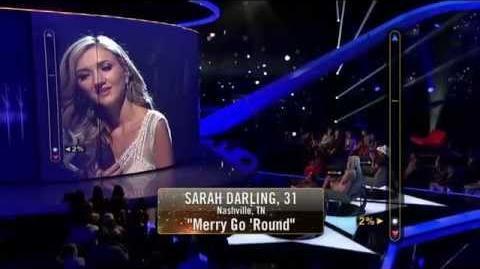 Rising Star - Sarah Darling Sings Merry Go Round