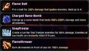 Artificer Skills