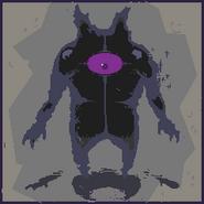 12-Purple Imp Portrait