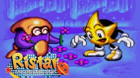 Ristar_-_Round_5_Planet_Freon_Gameplay