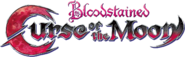Bloodstained Curse of the Moon logo