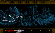 Curse of the moon's world map