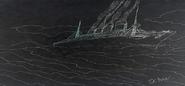 Titan Enroute to New York 1912