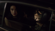 Season 1 Episode 1 The River's Edge Veronica arriving at Riverdale