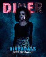 Season 2 'Diner' Josie McCoy Promotional Portrait