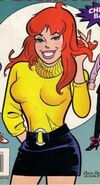 Cheryl blossom--manga-comics-archie-comics