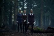 Chilling Adventures of Sabrina-First Look-Dorcas-Prudence-Agatha-Weird-Sisters