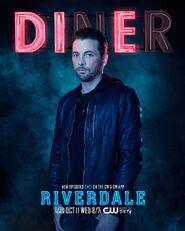 Season 2 'Diner' FP Jones Promotional Portrait