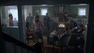 2x06 Alice, Mayor Sierra McCoy, Sheriff Keller, Fred, Hermione, Hiram, Reggie, Kevin, Josie, Veronica, Archie, Betty