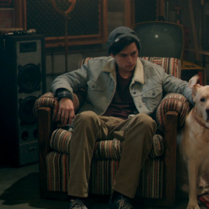 Season 1 Episode 10 The Lost Weekend Jughead and Vegas.png
