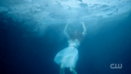 Season 1 Episode 13 The Sweet Hereafter Cheryl under water