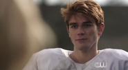 Season 1 Episode 1 The River's Edge Archie during practice