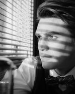 Retro Photo - KJ Apa (Archie Andrews)