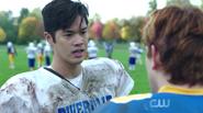Season 1 Episode 5 Heart of Darkness Reggie on the field