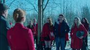 Season 1 Episode 9 La Grande Illusion Tree tapping Ceremony