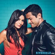 Season 2 Promotional Photo of Hermione and Hiram