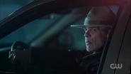 Season 1 Episode 12 Anatomy of a Murder Sheriff Keller in his car