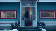 Season 1 Episode 13 The Sweet Hereafter Gunman leaving Pop's shot