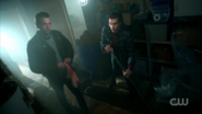 Season 1 Episode 12 Anatomy of a Murder Joaquin and FP looking at camera