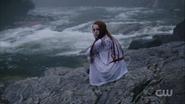 Season 1 Episode 1 The River's Edge Cheryl on the edge of the river