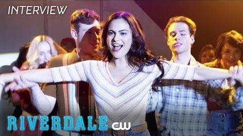 Riverdale Madelaine Petsch Interview Season 2 - Camila's Chris The CW