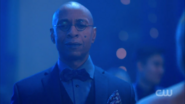 Season 1 Episode 11 To Riverdale and Back Again Mr. Weatherbee on stage