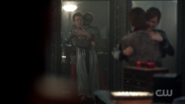 Season 1 Episode 11 To Riverdale and Back Again Penelope and Cliff hugging